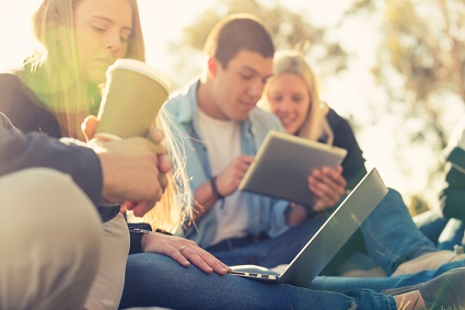 How do school-age millennials finance fun?