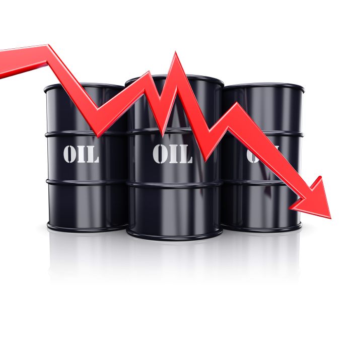 Oil dips below $40