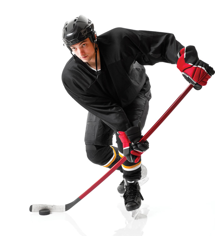 Former NHL player advises new athletes: be defensive