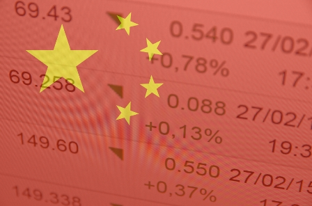 China's volatility in focus