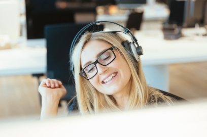 Are you more productive when listening to music?