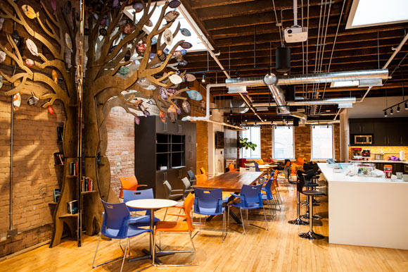 Tech start-ups want a different kind of workspace