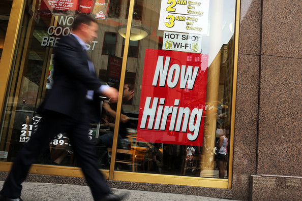 Jobs data revised downwards for 2014