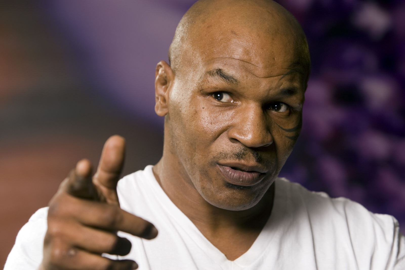 Mike Tyson goes head to head with advisor