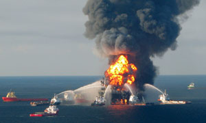 Oil-spill responder charged with insider trading