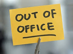 HR missing an 'out-of-office' opportunity