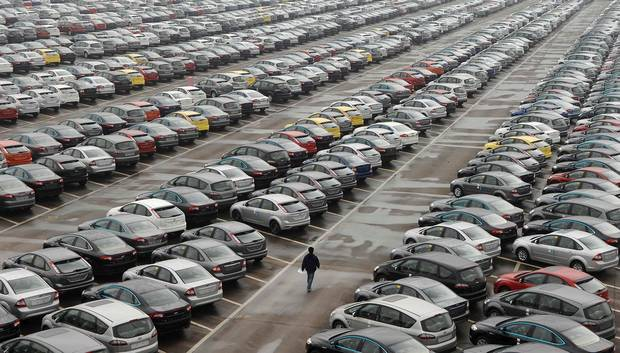 Parking lots disappearing all across Canada