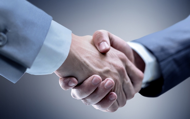 Getting to grips with the perfect handshake