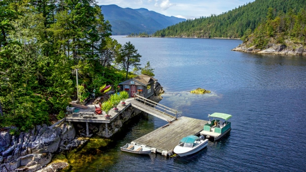 Private BC island for less than the price of a Calgary house