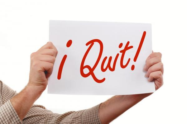 Lighter Side: The best (worst?) ways people have quit