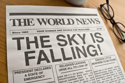 Brokers: the sky isn't falling