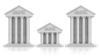 Downgrade for three major banks