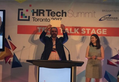 AI start-up takes grand prize at HR Tech Summit