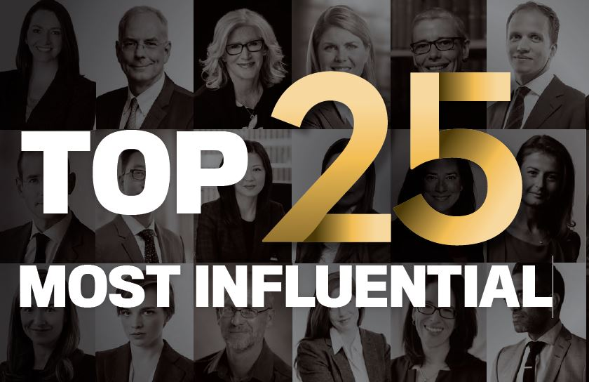 The Top 25 Most Influential 2019