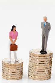 Women's wages drag almost a decade behind men's