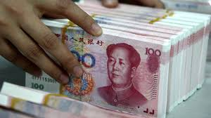 B.C. counting on Chinese currency